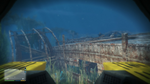 Wreck Skeletal Ship GTAV View