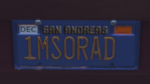 Custom Plate GTAO 1MS0RAD