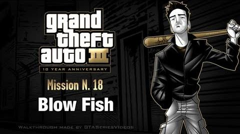 GTA 3 - iPad Walkthrough - Mission 18 - Blow Fish