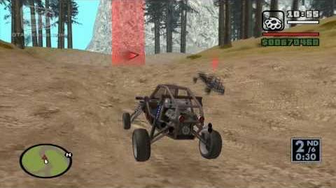 GTA San Andreas - Walkthrough - Street Race - Bandito County (HD)