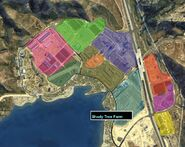 Grapeseed Land Survey GTAV Map Shady Tree Farm