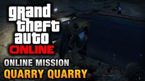 GTA Online - Mission - Quarry Quarry Hard Difficulty
