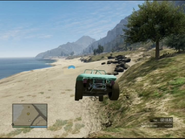 By the Side of the Bay GTAO Jump 2
