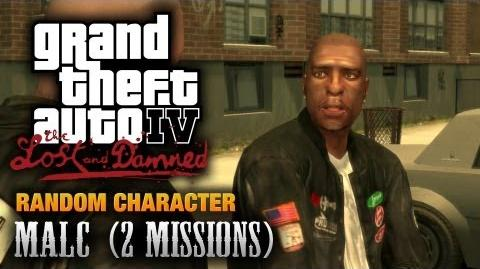 GTA The Lost and Damned - Random Character 2 - Malc 2 Missions (1080p)