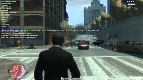 GTA IV weapons episodic weapons