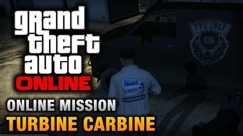 GTA Online - Mission - Turbine Carbine Hard Difficulty