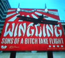 Wingding Sons of a Bitch Take Flight