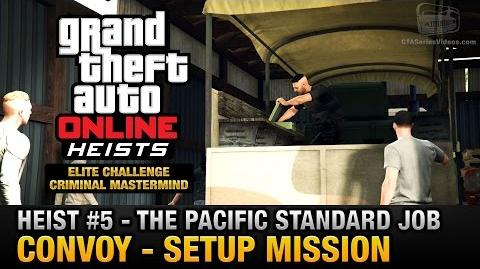 GTA Online Heist 5 - The Pacific Standard Job - Convoy (Criminal Mastermind)-0