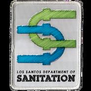 Los Santos Department of Sanitation Patch GTAV
