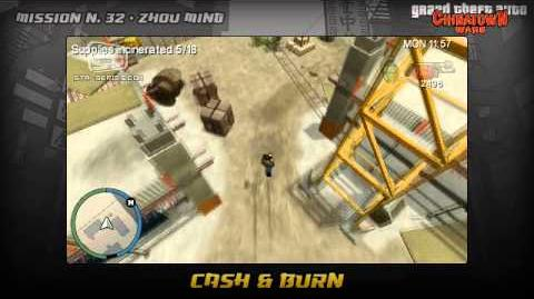 GTA Chinatown Wars - Walkthrough - Mission 32 - Cash & Burn