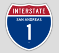 1957 Style Interstate 1 Shield.png