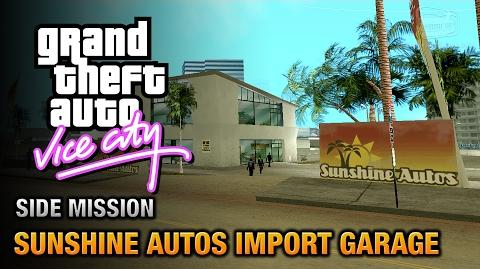 GTA Vice City - Sunshine Autos Import Garage Grand Theft Auto Trophy