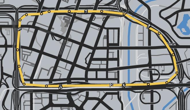 Loss Leader GTAO Race Map