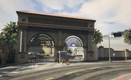 Backlot City GTAVpc North Gate
