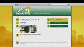 Dynasty Estate-Agent Website.GTAV