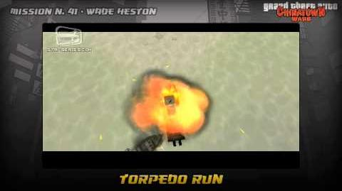 GTA Chinatown Wars - Walkthrough - Mission 41 - Torpedo Run