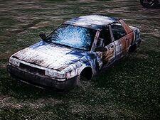 80's sedan-GTAV-wreck