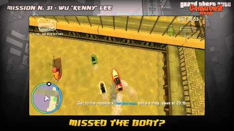 GTA Chinatown Wars - Walkthrough - Mission 31 - Missed the Boat?