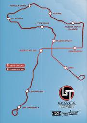 Los santos transit map