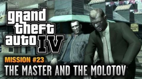 GTA 4 - Mission 23 - The Master and the Molotov (1080p)