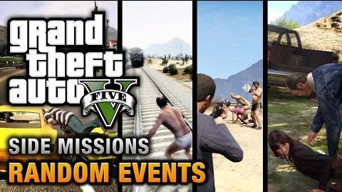 GTA 5 - All Random Events