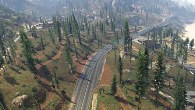 File:Route1-GTAV-PaletoForest.jpg