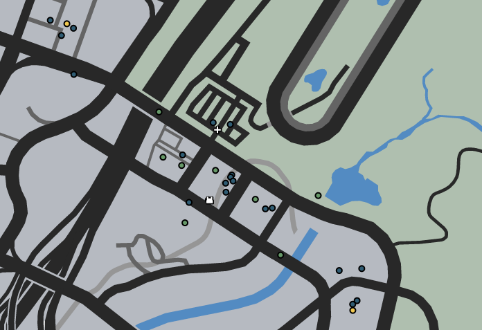 Grab a Cab GTA GTAO Map