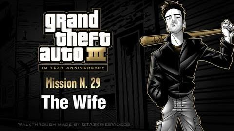 GTA 3 - iPad Walkthrough - Mission 29 - The Wife
