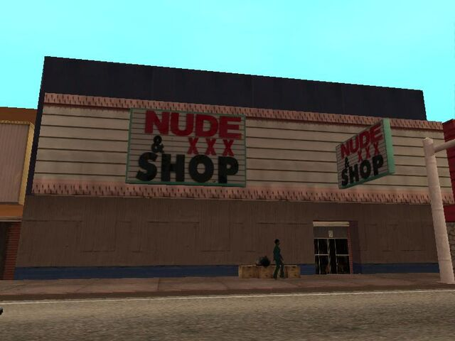 File:Nude & XXX shop between Jim`s Sticky Ring.jpg