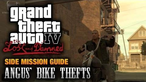 GTA The Lost and Damned - Angus' Bike Thefts (1080p)