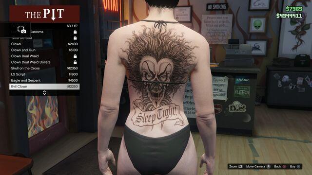 File:Tattoo GTAV-Online Female Torso Evil Clown.jpg