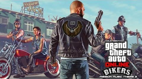 Grand Theft Auto GTA V 5 Online Bikers - Mission Music Theme 3