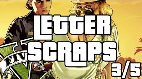 Grand Theft Auto 5 - Letter Scraps Locations - 3 5 - Northeast - GTA V
