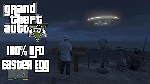 GTA V (GTA 5) - 100% Alien UFO Easter Eggs (Mt Chiliad, Sandy Shores, Fort Zancudo UFO's)