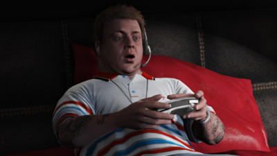 Jimmy-Playing Video Games-GTAV
