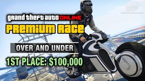 GTA Online - Premium Race 27 - Over and Under (Cunning Stunts)