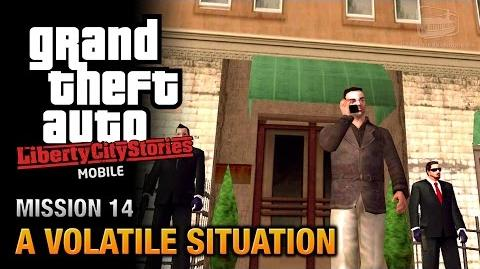 GTA Liberty City Stories Mobile - Mission 14 - A Volatile Situation