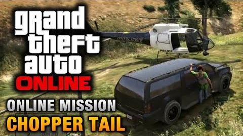 GTA Online - Mission - Chopper Tail Hard Difficulty