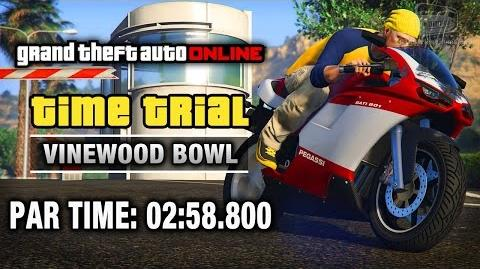 GTA Online - Time Trial 19 - Vinewood Bowl (Under Par Time)