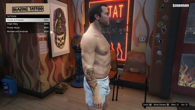 File:Tattoo Michael Right Arm GTAV Family is Forever.jpg