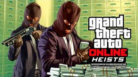 Grand Theft Auto GTA Online Heists - The Pacific Standard Job Finale Mission Complete Music Theme