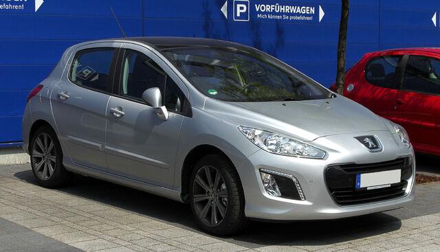 File:Peugeot 308 (Facelift) – Frontansicht, 21. Mai 2011, Düsseldorf.jpg