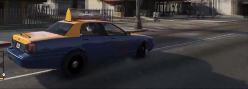 GTA V Taxi 1
