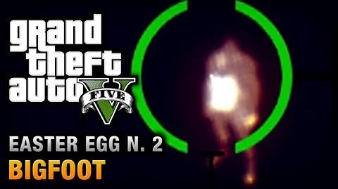 GTA 5 - Easter Egg 2 - Bigfoot