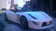 Grotti Carbonizzare (Front&Side Roof retracted)-GTAV