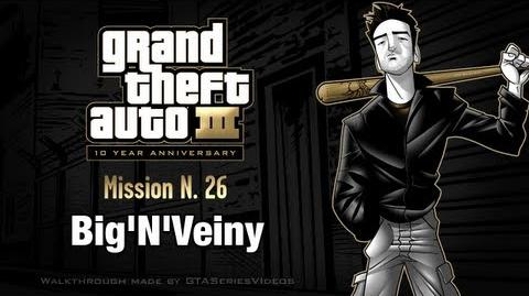 GTA 3 - iPad Walkthrough - Mission 26 - Big'N'Veiny