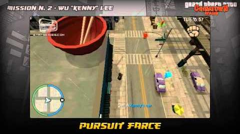 GTA Chinatown Wars - Walkthrough - Mission 2 - Pursuit Farce