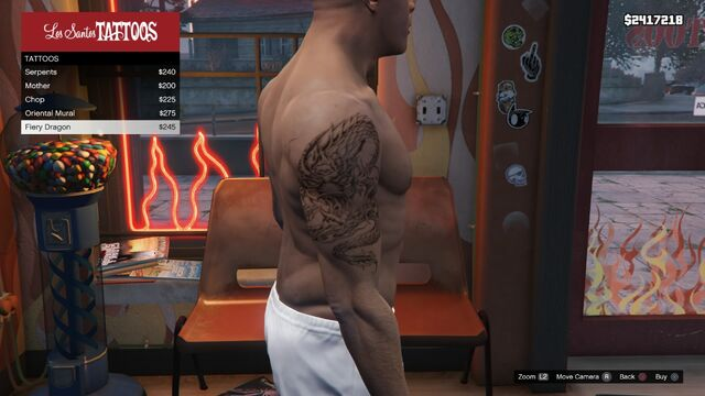 File:Tattoo Franklin Right Arm GTAV Fiery Dragon.jpg