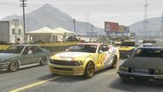 Stock Car Race GTAVe Race3 Start Grid
