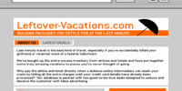 Leftover-vacations.com